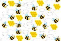 Včielky pozadia