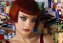 Classic Short Bob Haircut / Classic Short Bob Hair, inspired from vintage french bob hair style with blunt bangs.