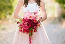 Flores e buquês de casamento / Flores, bouquets  & decorações florais para o seu casamento