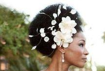 Penteados para Noivas Negras / Inspirações de looks para noivas negras