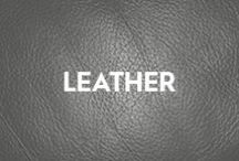 Leather / Leather is one of the mankind's oldest natural resources. The foremost gift to man from Mother Nature, rich and pure. Deep cigars and a musky afterglow that smells like the earth.