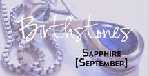 Sapphire - Birthstone Series [September] / A collection of products and inspiration for September's birthstone Sapphire. Here you will find links to women's fashion, jewellery, accessories, mood boards, style guides, make up designs, beauty products and more based around the birthstone Sapphire and the colours blue, navy and pink. | birthstone | September | Sapphire | Fashion | Mood Board | Style | Make up | dupes | blue palette | Sapphire jewellery | navy | pink sapphire | pink | royal blue |