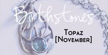 Topaz - Birthstone Series [November] / A collection of products and inspiration for November's birthstone Topaz. Here you will find links to women's fashion, jewellery, accessories, mood boards, style guides, make up designs, beauty products and more based around the birthstone topaz and the colours aqua, turquoise, orange and gold. | birthstone | November | Topaz | Fashion | Mood Board | Style | Make up | dupes | blue colour palette | topaz jewellery | gold | orange | turquoise |  yellow |