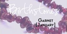 Garnet - Birthstone Series [January] / A collection of products and inspiration for January's birthstone Garnet. Here you will find links to women's fashion, jewellery, accessories, mood boards, style guides, make up designs, beauty products and more based around the birthstone peridot and the colours lime, green, yellow, olive, khaki and chartruese | birthstone | January | Garnet | Fashion | Mood Board | Style | Make up | dupes | burgundy colour palette | garnet jewellery |  wine |  dark red | purple | scarlet | cherry |