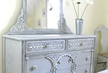 Painted Furniture Finish Inspiration / Annie Sloan Chalk Paint, Miss Mustard Seed Milk Paint, Maison Blanche, CeCe Caldwell, Artisan Enhancements, General Finishes, Modern Masters. I love them all! I use artistic techniques on wellmade vintage furniture for sale on my Etsy shop. Visit my fbpage! Contact me to create your own custom piece of painted furniture! Or browse and get inspired to try new colors and techniques! It's so much fun to dream in color!   Http://www.facebook.com/DeeChicMagnifique  Www.etsy.com/shop/DeeChicMagnifique / by Diana Stephens