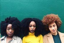 Natural hair beauties / by Justine Herving