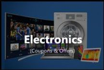 Electronics / Discount coupon codes on electronic items in India.Get latest deals on camera, laptop, memory card, hard disk, mp3 and more.