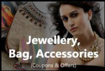 Jewellery Bags Accessories / Get the latest deals on jewelleries and accessories.