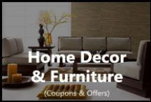 Home Decor & Furniture / Find latest deals in home decor and furniture from Pepperfry, Fabfurnish, Askmebazaar, Flipkart, Amazon and many online sites.