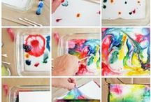 creativa la pintura