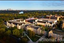 University of St. Thomas St. Paul Campus Showcase / Combining location, beauty, and convenience.