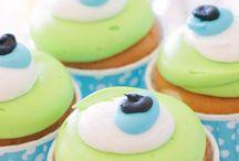 Cupcakes party / Ideas para hacer una fiesta estilo #masterchef junior, con #cupcakes, pizzas y chuches.