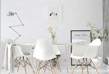 Branco / Inspirações para utilizar a cor que é tendência em 2015.