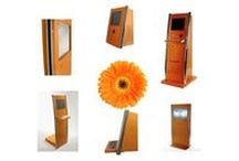Experience the Rainbow - Orange / SlabbKiosks can customized kiosks to suit your needs including any color you require. We love orange!