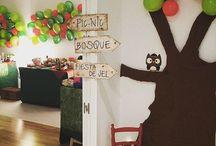Little Red Riding Hood party / Ideas para preparar una #fiesta temática #caperucitaroja. Con pocas cosas se puede conseguir un gran impacto