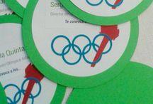 Olimpic games party / Un montón de ideas para organizar una #fiesta de #juegosolimpicos. Fácil, vistosa y muy divertida. Have #fun!