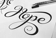 Lettering and typography / Lettering and typography