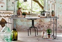 Vintage deco and things / Preciosos objetos vintage e industriales