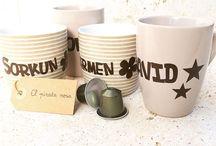 Mugs / Hand made and personalized MUGS