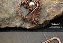 diy and ideas of jewelry / tutoriais e ideias de joias com arames