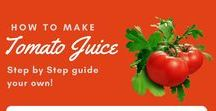 Juicing Vegetables / See how to juice every kind of vegetable in order to juice the right way.