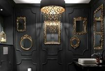 Black on Black / Even in a cloakroom, you can explore highly distinctive design approaches. Take a bold approach to create a room you're proud of – for its visual appeal as well as its practical convenience.
