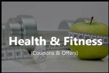 Health & Fitness / Get latest coupons from healthkart, 1mg, amazon and many other on healthcare products.