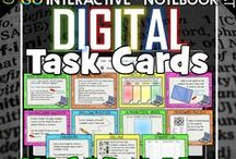 Digital Task Cards / Digital Task Cards- board is secret til we build it up then i will post it live