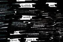 words. / by Alyssa Krahn