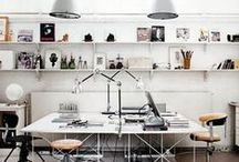 Interiors / Studios / #studios #workplace #workspace #interiors / by Francisco Nogueira