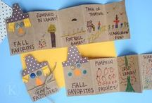FALL Activities for Kids / FALL activities for a First Grade classroom including fall trees, pumpkins, scarecrows