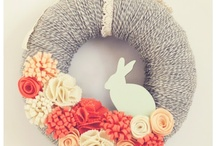 wreath ideas / by Crystal Drake