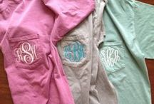 If it's not moving, monogram it. / by Jolie Barrios