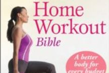 Getting Started on a Home Fitness Routine / Great resources for strarting your own home gym.