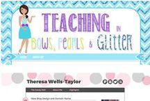 My Portfolio / Custom blogger designs by Barbara Leyne Designs / by Grade ONEderful