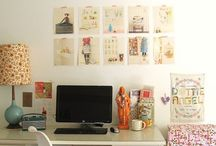 home // office. / by Alyssa Krahn
