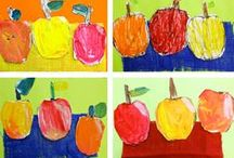 Apples / Collection of art, science, poetry, writing and cooking ideas for a 1st Grade Apple Unit / by Barbara Leyne Designs