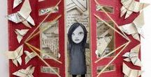 Book Art / Books are more than reading--they can be art!