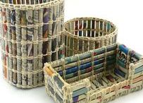 Crafty Ideas / Fun crafts for anyone who loves books and reading.
