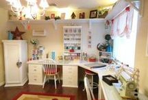Craft Room Ideas / by Michelle Armstrong