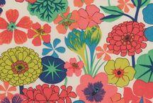 Fabrics & patterns