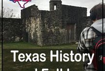 Texas History and Folklore / Explore Texas history! This board features Texas historical sites, locations and museums as well as Texas folklore.  The Lone Star State is home to a rich history and interesting tales which are often as big as Texas themselves. Step back in time at these interesting and educational sites. #history #texas #texashistory #travel #talltales #historicalsites #folklore