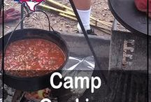 Camp Cooking / Recipes and tips for camp cooking! Cooking with cast iron skillets, dutch ovens, charcoal grills, over the campfire, propane stoves, foil pouches, crockpots, instant pots... This board is all about cooking when you are tent camping or RVing. We'll focus on outdoor cooking with a few indoor recipes as well. #campcooking #camping #gorving #eathealthy #recipes #cooking #howto #rvlife