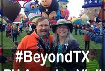 #BeyondTX: RV America Y'all / US Travel destinations, road trips, National Parks, State Parks, RV Parks and bucket list places to visit across the USA! Join us as we explore #BeyondTX and RV America Y'all! #roadtrip #bucketlist #rvamerica #usa #travel #gorving