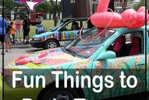 """Fun Things in Texas / They say """"Everything is Bigger in Texas!"""" and that includes the FUN! This board features fun events and things to do across Texas including annual festivals, places to visit and family-friendly activities. Get out there and enjoy! #fun #festivals #familyfriendly #funthingstodo #placestogo #travel #entertainment #texas #gorving #events"""