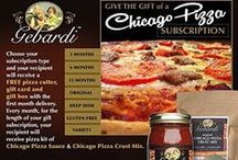 """Pizza Gifts / Give the gift of family tradition with """"Notoriously Delicious"""" Italian food, passed down 4 generations."""