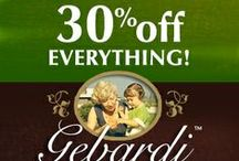 Special Offers / Get the latest discounts, coupon codes and special giveaways from Gebardi at gebardifoods.com