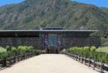 Montes Winery / Vina #Montes is a premier winery in #Colchagua Valley Chile. A large modern winery known for it's feng shui approach and Gregorian chants. #Colchagua #wine tours - #Pinterest-Colchagua-Wineries