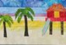 """Florida Row by Row Experience 2014 """"seasons"""" 2014 Cotton Patch Quilt Shop / July 1, 2014, the experience begins."""
