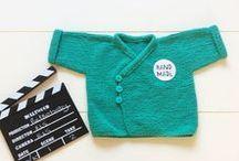 Babykleding retro / Onze eigen lijn met babykleding, met te gekke retro prints!